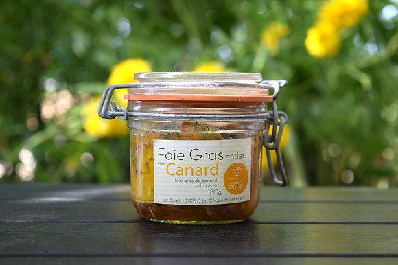Foie-gras de canard entier