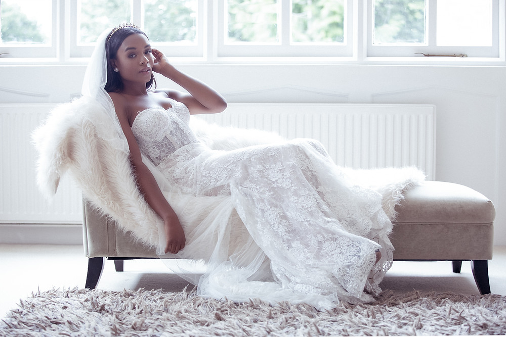 Bridal shot in suite at Nonsuch Mansion wedding venue. Photography by Editorial Wedding Photographer Shane Anthony Sinclair Beckenham Wedding Photographer London Wedding Photographer