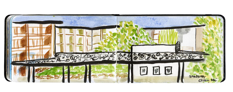 Sketch in Chiangmai