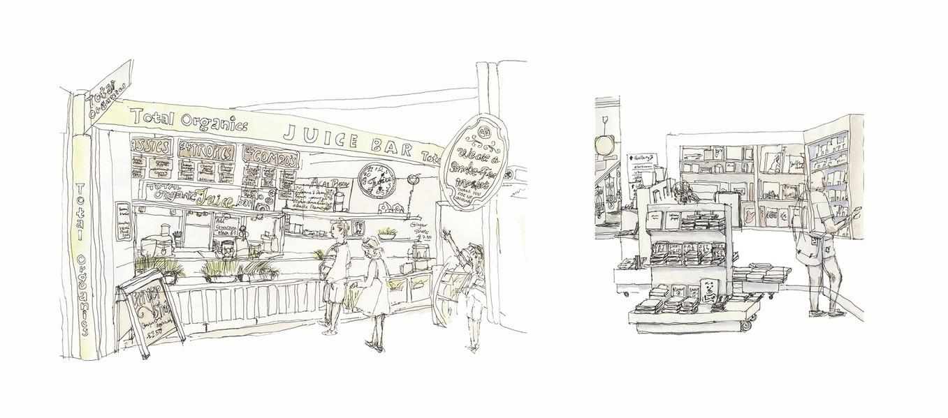 Sketch in London