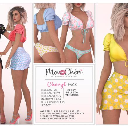Cheryl Skirts & Tops