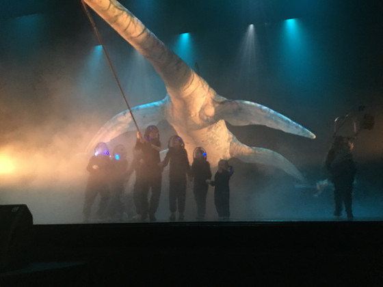 Going to see Erth's Prehistoric Aquarium
