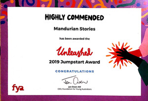 Congratulations, Mandurian Stories Contributors!