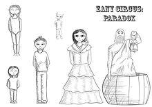 'Zany Circus: Paradox' puppet template