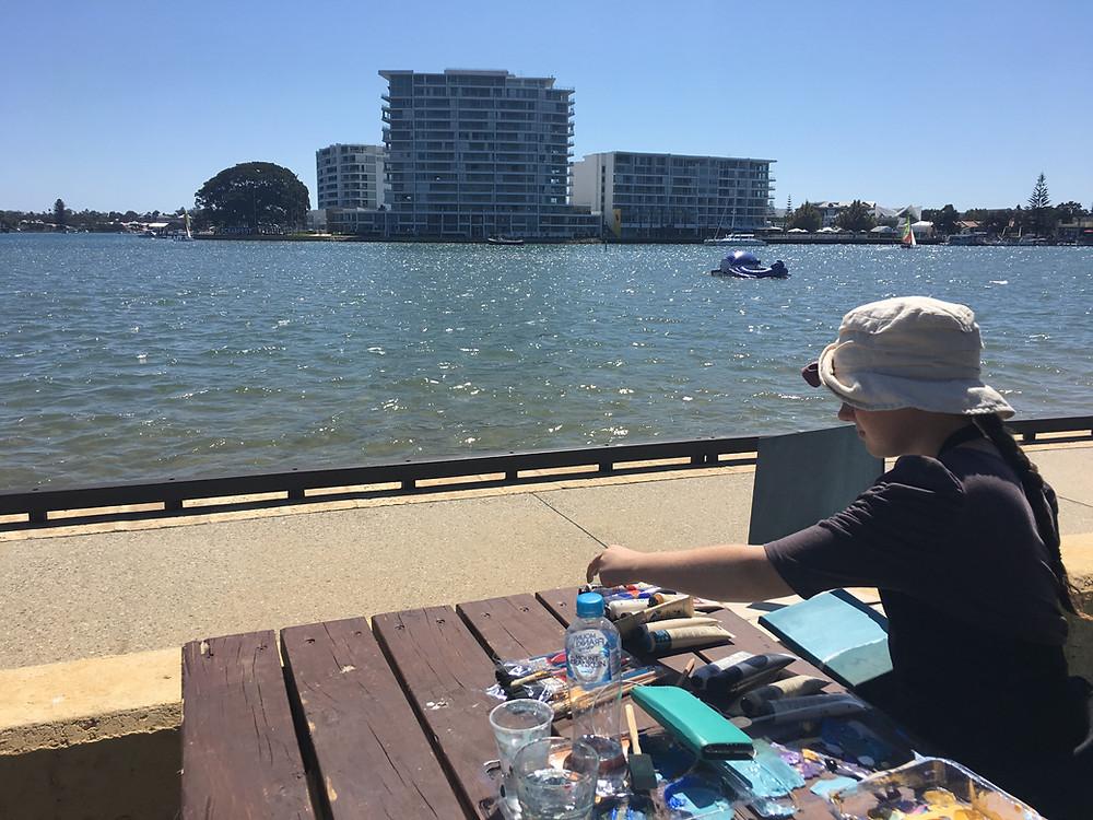 Xanthe Turner at Crab Fest 2019