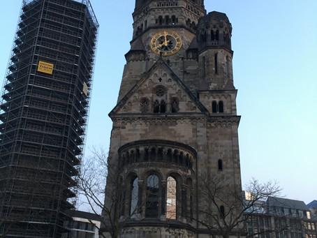 Iglesia Kaiser Wilhelm. Segunda Guerra mundial presente