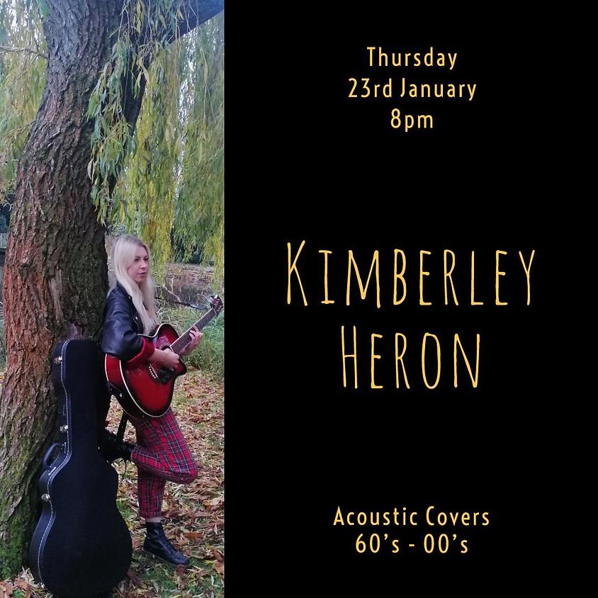 Kimberley Heron - Solo Singer