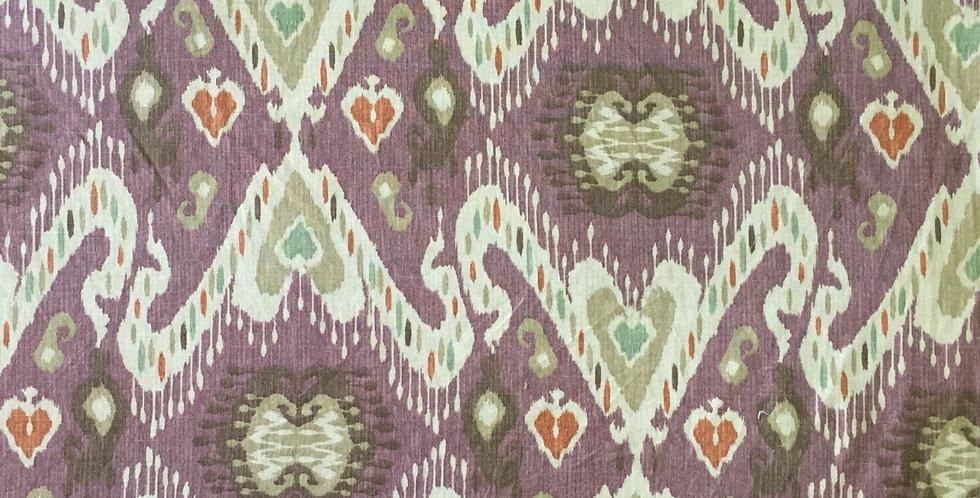 Tribal Ikat - Purple - Teal - Orange