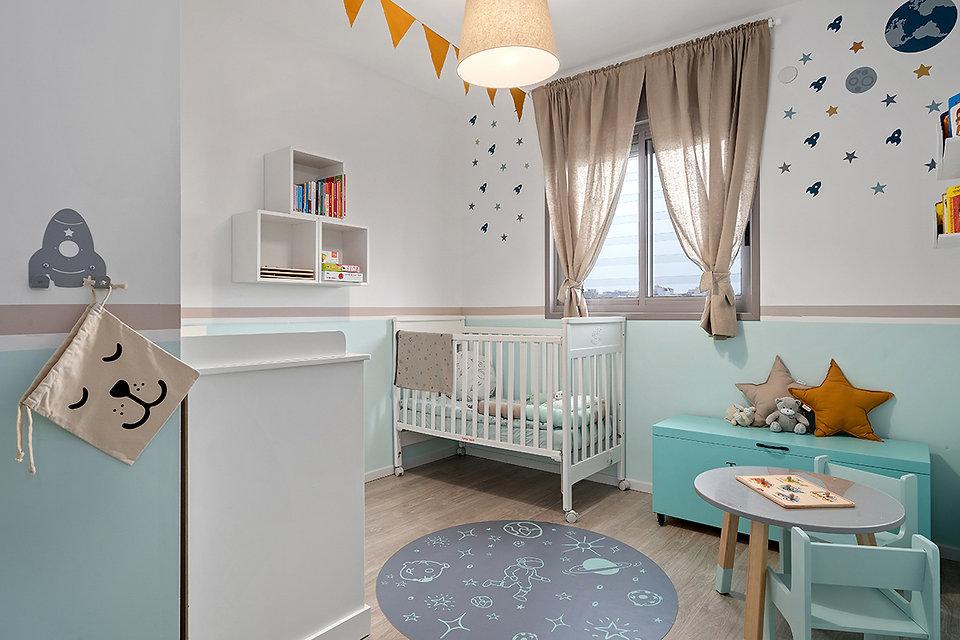 עיצוב חדר לתינוק