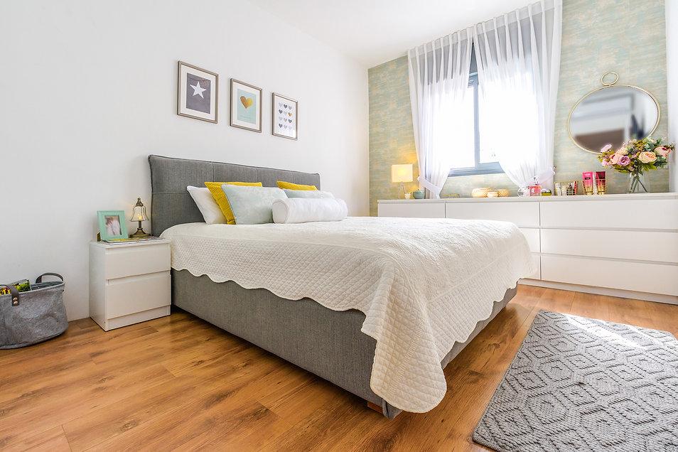 עיצוב חדר שינה כפרי
