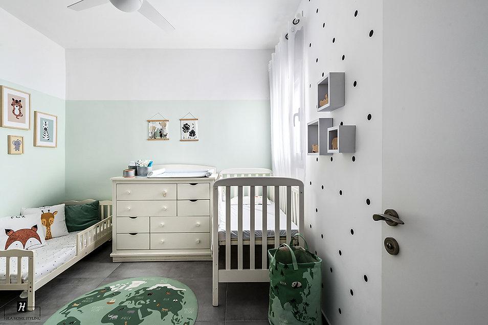 עיצוב חדר לשני ילדים