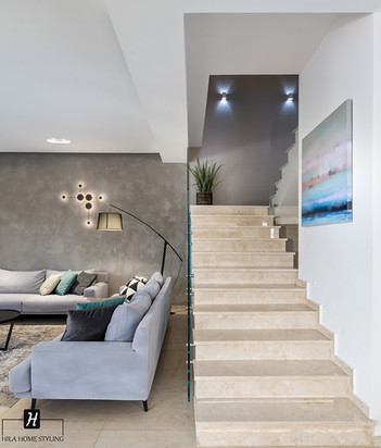 עיצוב בית פרטי משפחת עמירה