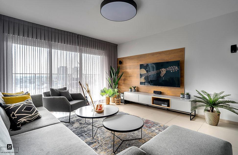 עיצוב דירת קבלן