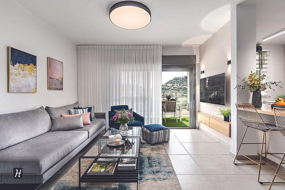 עיצוב דירת 4 חדרים