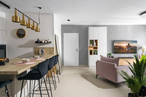 עיצוב דירת קבלן, עיצוב דירת 5 חדרים