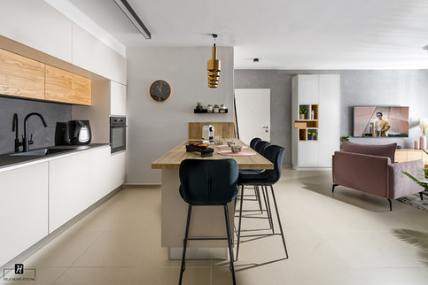 עיצוב דירת 5 חדרים מחיר למשתכן משפחת בוזגלו