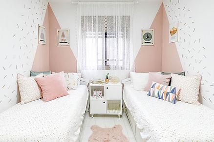 עיצוב חדר ילדים משותף
