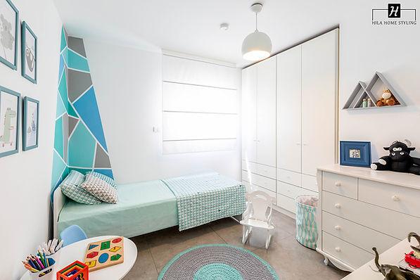 עיצוב חדר לילדים עם קשב וריכוז | הילה אלטר עיצוב פנים והום סטיילינג