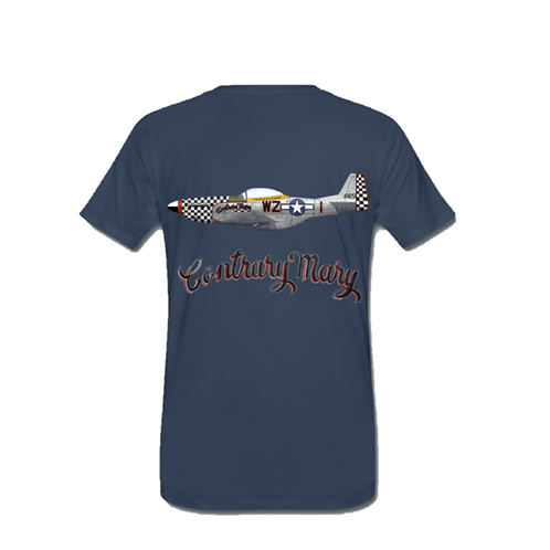 Ultimate Warbird Flights T-Shirt - Contrary Mary
