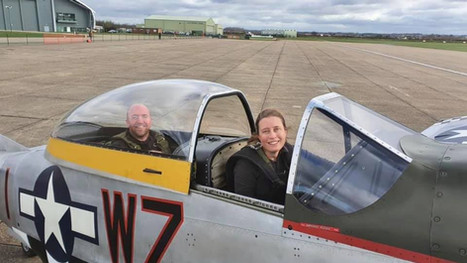 Another pilot goes solo in a Warbird!