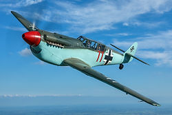 fly in a me109