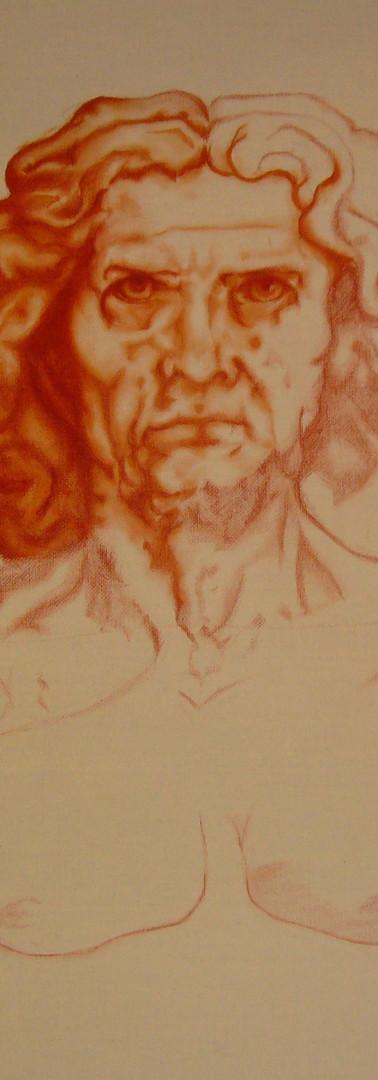 L'Homme de Vitruve - oeuvre en cours 2