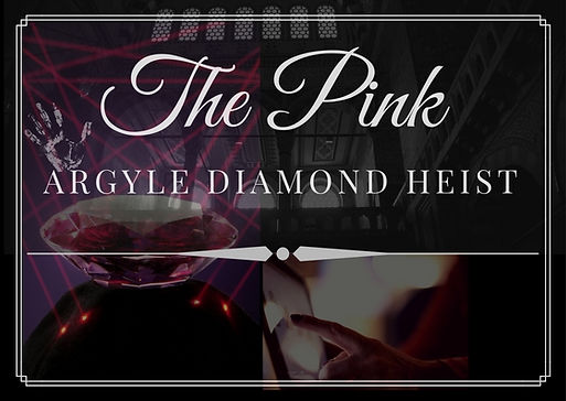 "<img src=""The Pink Argyle Diamond Heist.jpg"" alt=""Logo"">"