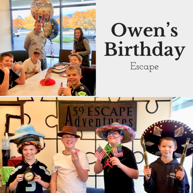 Happy Birthday Owen!