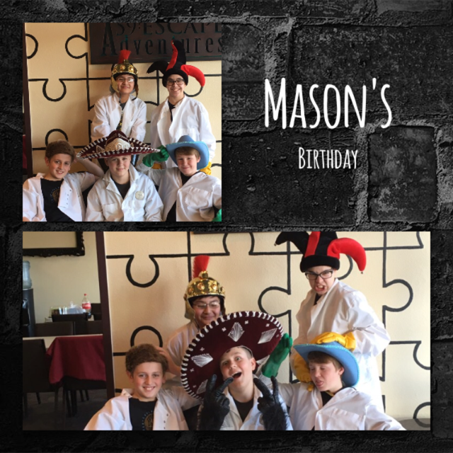 Happy Birthday Mason