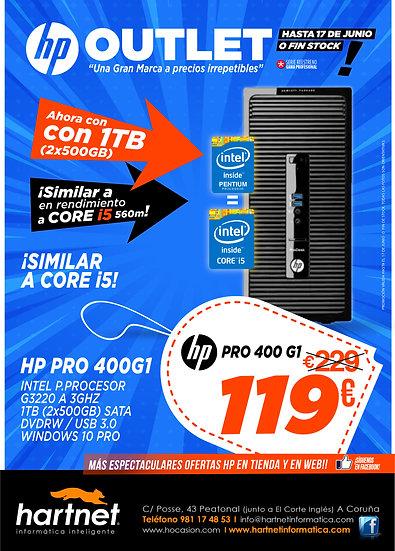 HP PRODESK 400 G1  - REF. 21905