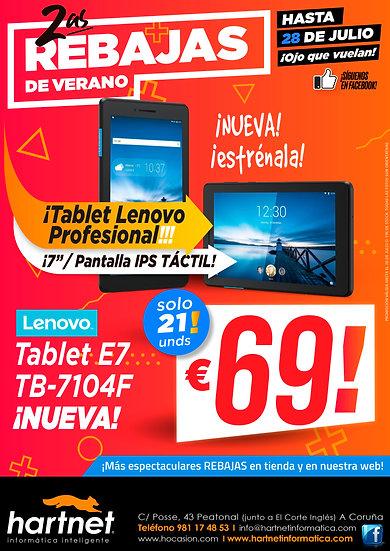 TABLET NUEVA LENOVO  - REF. 22226