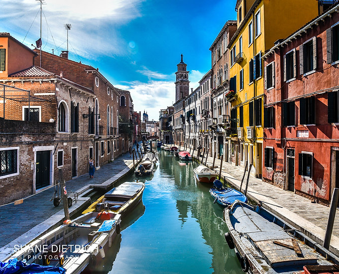 Venice - Canal View