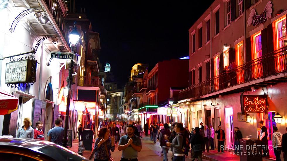 "New Orleans - ""Bourbon Street"""