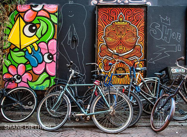 Bicycle No. 13 - Graffiti Naked