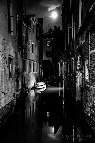Venice - Moonlight Canal