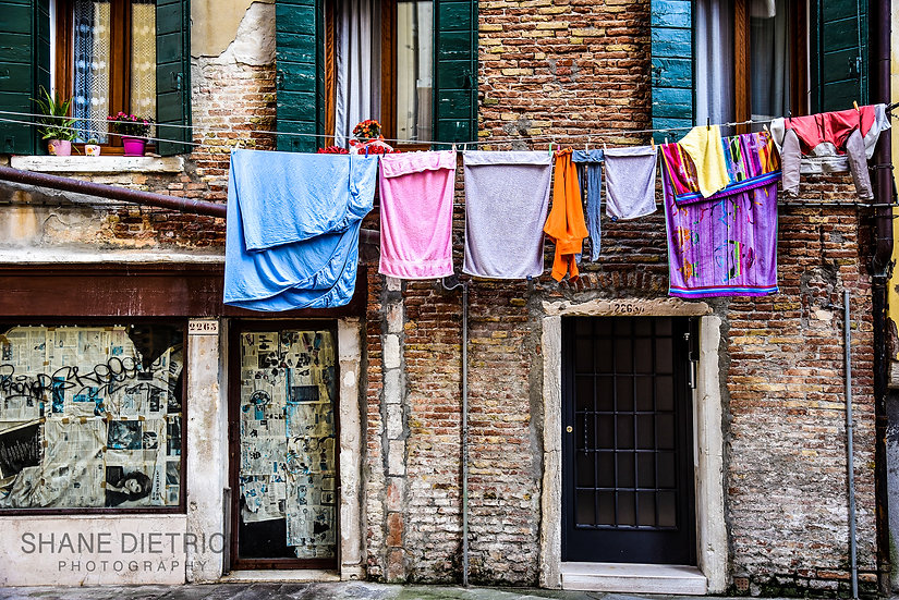 Laundry Day - Shades of Lavender