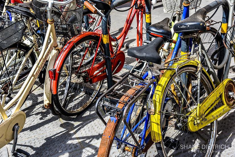Bicycle No. 10 - Cramped