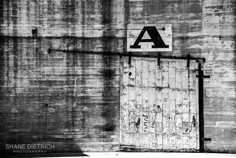 """""""A"""" Door"""