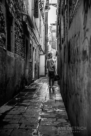 Girl In The Alley