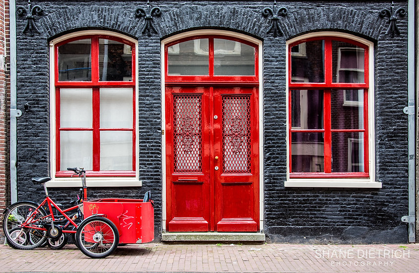 Bicycle No. 1 - Super Red