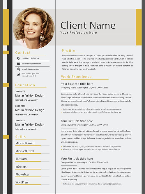 Graphical Resume
