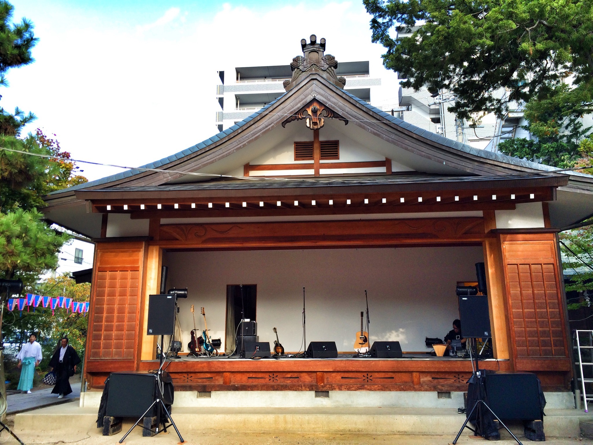 神道祭 四柱神社 長野