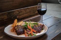 Skirt Steak and Wine