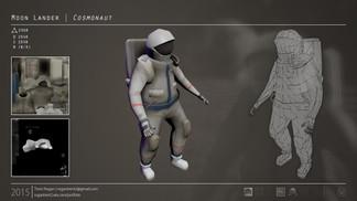 Cosmonaut Character