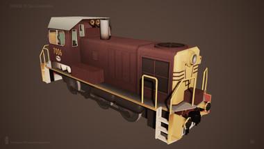 NSWGR 70 Class Loco