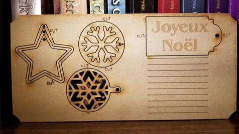 Joyeux Noel - Ornaments