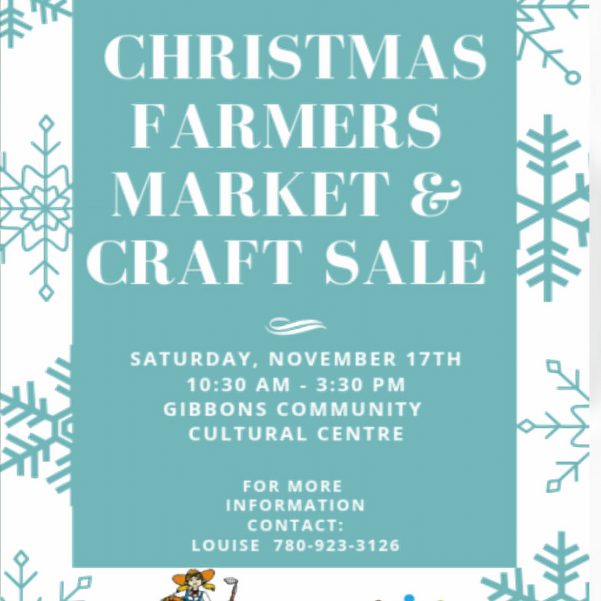 Gibbons Farmers Market & Craft Sale
