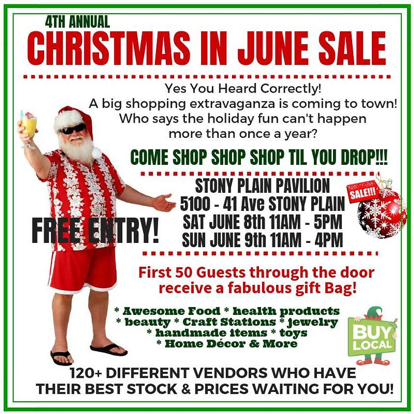 Christmas in June Sale