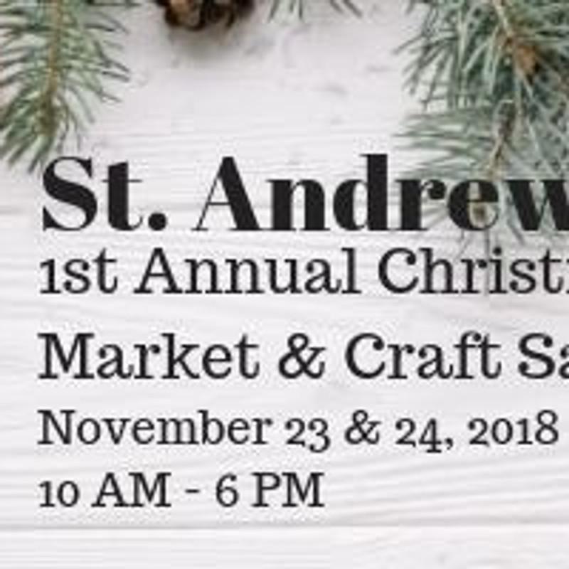 St. Andrews Centre Christmas Market & Craft Sale
