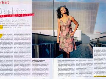 Cendrine in Femme Magazine